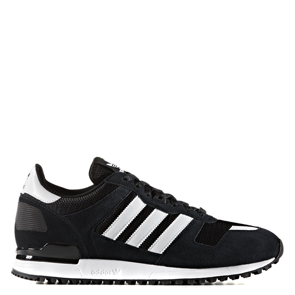 【EST S】Adidas Original Zx700 S76174 麂皮慢跑鞋 黑白 G1028