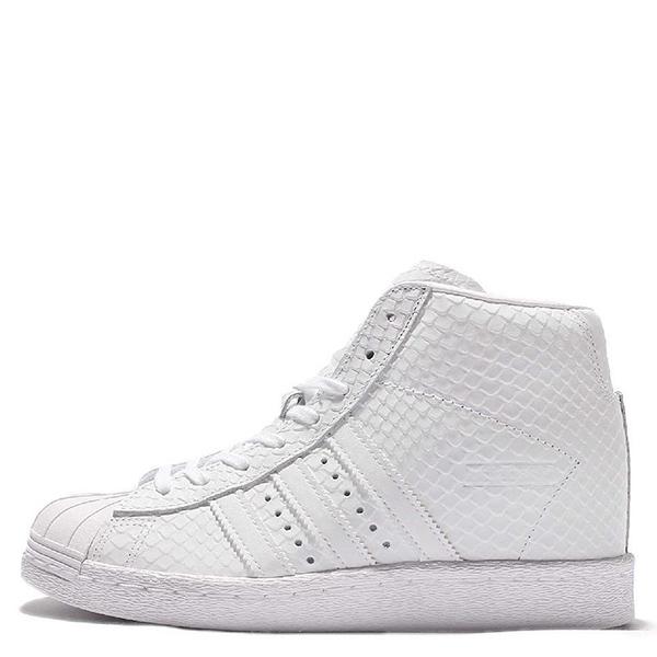 【EST S】Adidas Originals Superstar S76405 高筒增高 全白蛇紋 G1028