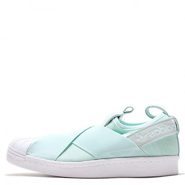 【EST S】Adidas Superstar Slip On S76407 懶人鞋貝殼繃帶鞋 薄荷綠 G1021