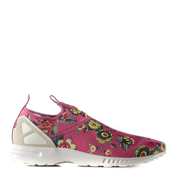 【EST S】Adidas Zx Flux Adv Slip On S78960 襪套慢跑鞋 粉紅花卉 G1028