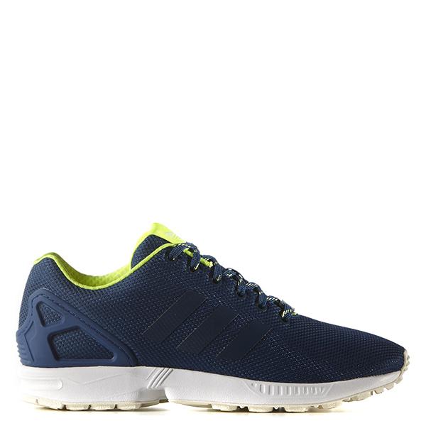 【EST S】Adidas Originals Zx Flux S79101 慢跑鞋 藍白 螢光綠 G1028