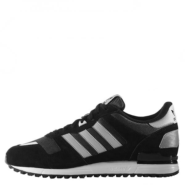 【EST S】Adidas Zx 700 S79185 麂皮復古慢跑鞋 黑白 G1028