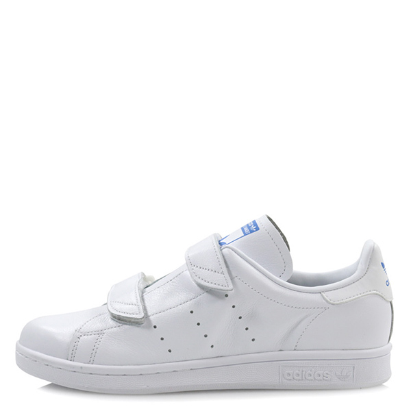 【EST S】Adidas Stan Smith Fast S80134 魔鬼氈 藍標 全白 G1028