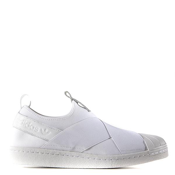 【EST S】Adidas Superstar Slip On S81338 繃帶鞋 全白 G1028