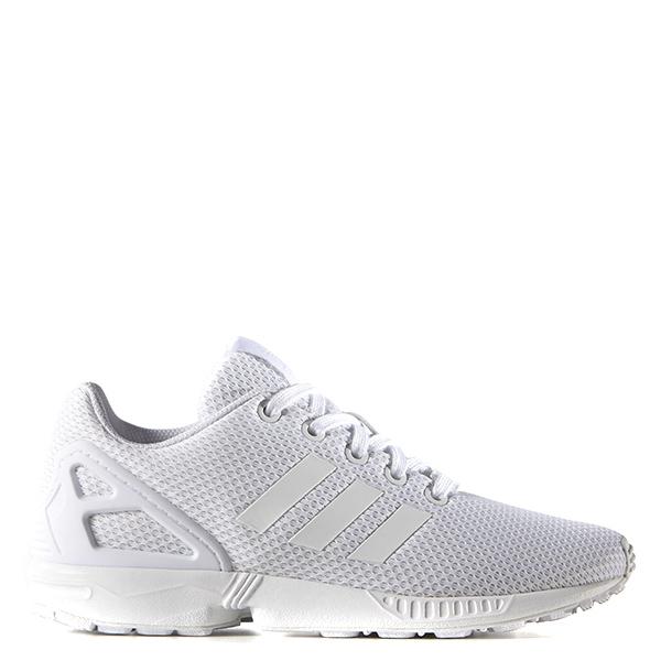 【EST S】Adidas Zx Flux K White S81421 復古慢跑鞋 全白 G1028
