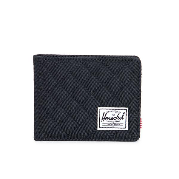 【EST】Herschel Roy Wallet 短夾 皮夾 錢包 菱格紋 黑 [HS-0069-866] F1019