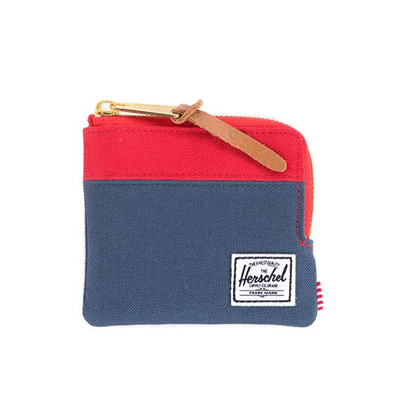 【EST】HERSCHEL JOHNNY WALLET 小皮夾 零錢包 藍紅 [HS-0094-018] F1019