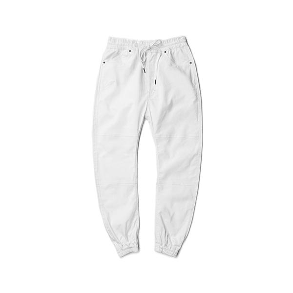 【EST】PUBLISH ARCH JOGGER 抽繩 綁帶 長褲 工作褲 束口褲 白 [PL-5351-001] F1002