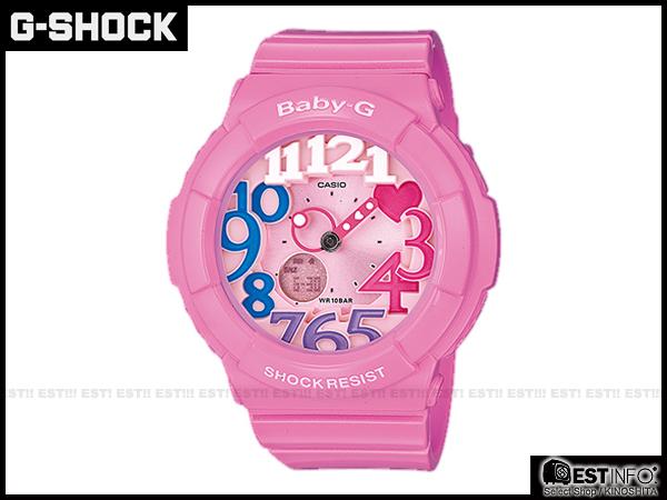 【EST O】G-Shock Baby-G Casio BGA-131 卡西歐 夜光 女錶 手錶 [BGA-131-4B3] 櫻花 粉 E0221