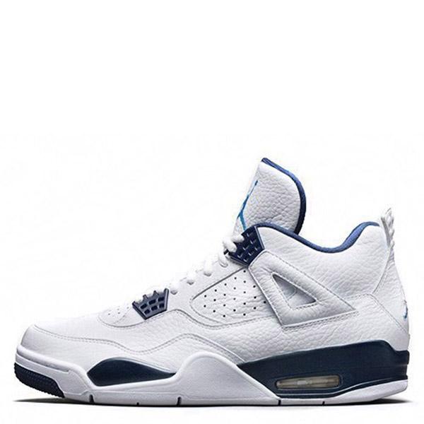 【EST O】Nike Air Jordan 4 Retro Bg Aj4 哥倫比亞 傳奇藍 男鞋 [314254-107] F0513