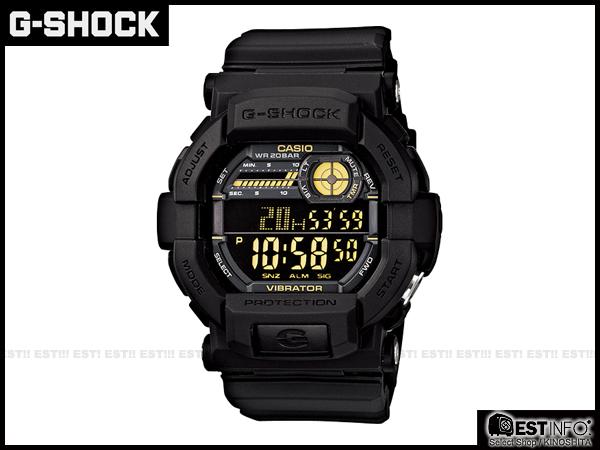 【EST O】G-Shock Baby-G Casio GD-350 卡西歐 防水 賽車 大錶面 手錶 [GD-350-1BJF] 黑 E0221