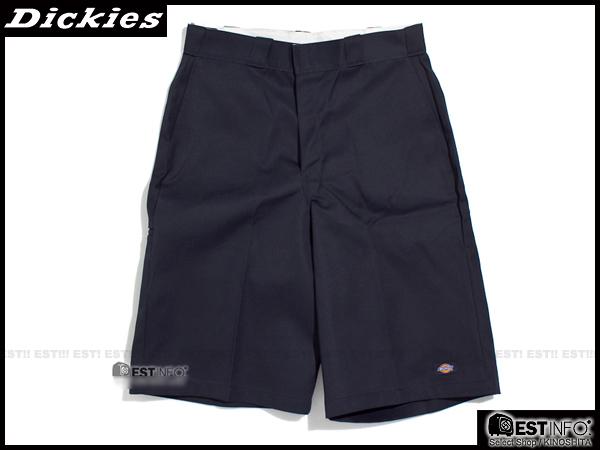 """【EST】美版 Dickies 42-283 13"""" Loose Fit Work Short 工作 短褲 [DK-5002-086] 深藍 W28~36 E0613"""