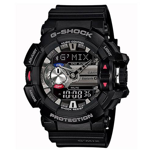 【EST O】G-Shock 雙顯 指針 智慧藍芽 低功耗 手錶 [GBA-400-1AJF] 黑 F0327