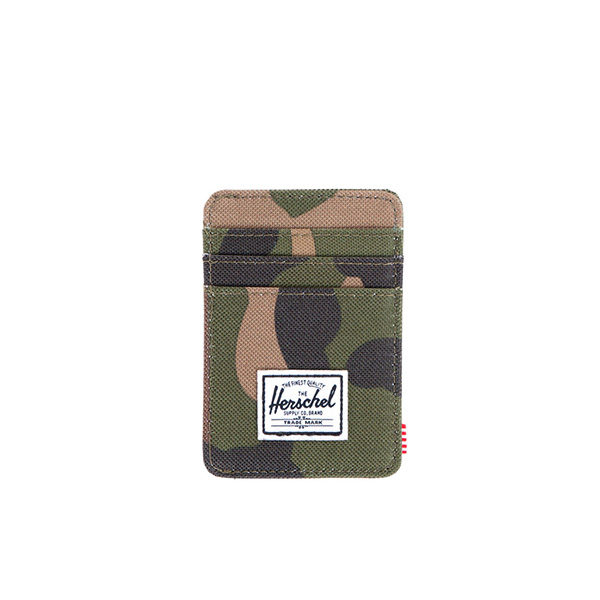 【EST】Herschel Raven Wallet 直式 卡夾 名片夾 證件套 鈔票夾 迷彩 [HS-0048-032] F0421