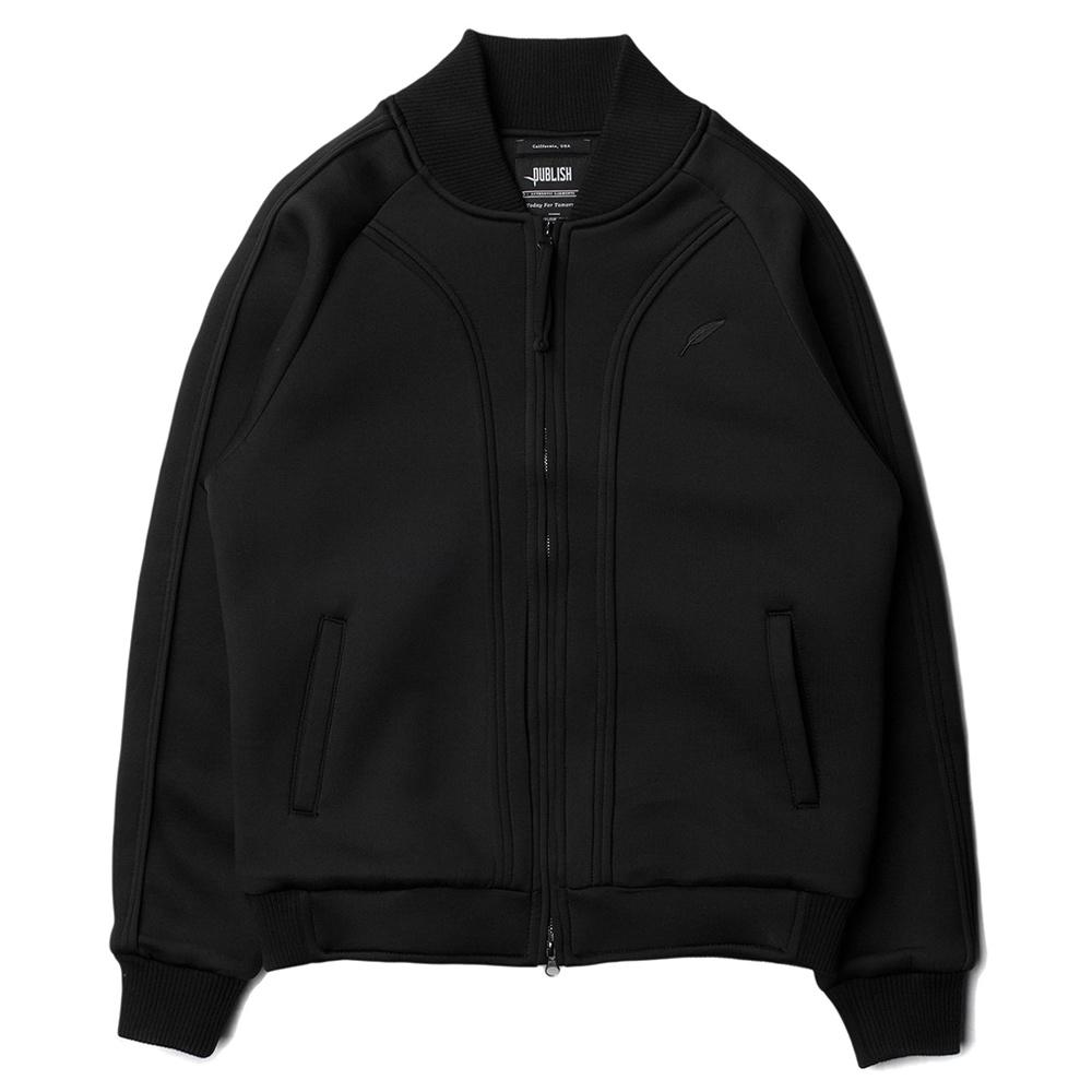 【EST】Publish Snyder Jacket 運動 棒球 外套 黑 [PL-5215-002] S~L E1127
