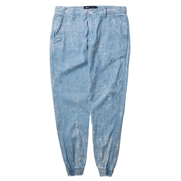 【EST】PUBLISH ARSHAM 雪花 渲染 束口褲 牛仔褲 單寧藍 [PL-5323-488] W28~34 F0529