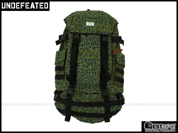 【EST】UNDEFEATED BACKPACK 多功能 可拆 豹紋 迷彩 後背包 [UF-4128] 綠 E1001