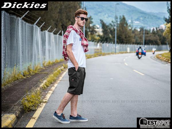 """【EST】美版 Dickies Wr640 13"""" Relaxed Fit Work Short 工作 短褲 [DK-5001-175] 鐵灰 W28~36 E1016"""