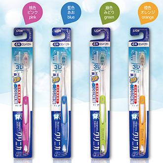 【Made in Japan】LION Japan 獅王 CLINICA Toothbrush 3D Cut