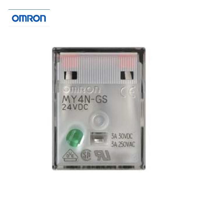 【OMRON】 繼電器 MY4N-GS  14腳 (MY4NJ為舊款)