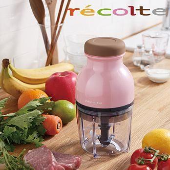 【台灣公司貨】麗克特 QUATRE Recolte RCP-2【附43道精緻食譜 兩色可選】冰沙食物調理機 料理機處理機