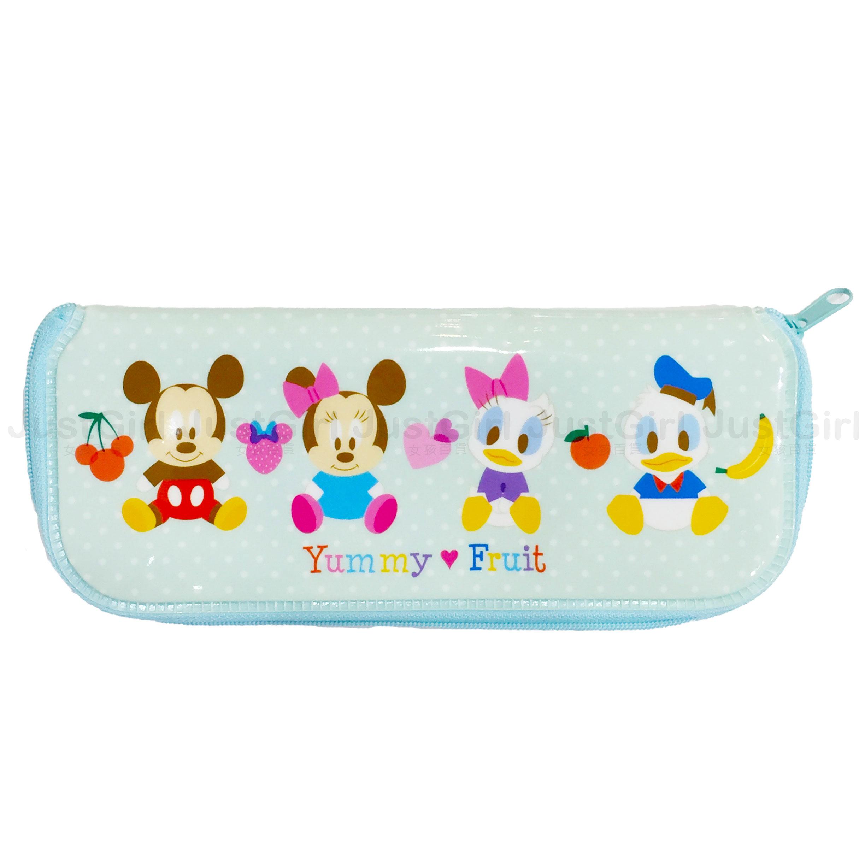 迪士尼 米奇米妮 唐老鴨黛西 寶寶 LILFANT 餐具收納袋 餐具袋 防水 餐具 韓國製造進口 JustGirl