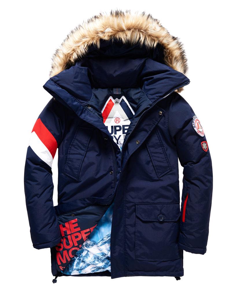 [男款] 極度乾燥 Superdry Mountain Master Everest滑雪連帽運動防水風衣休閒外套夾克