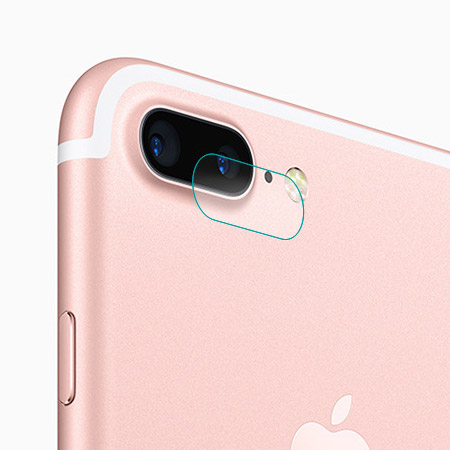 iPhone 7/7 Plus 鋼化玻璃鏡頭保護貼 鏡頭圈 蘋果7 i7【N202183】