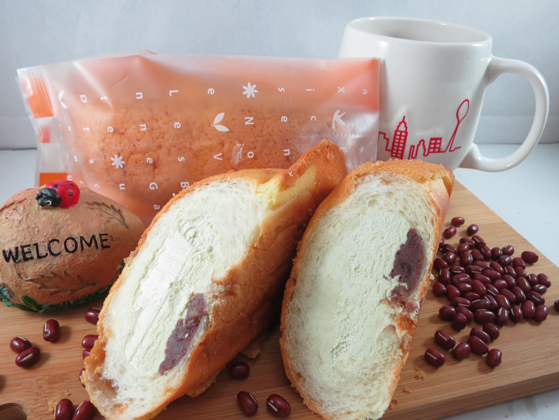 【Bliss Castle】首創灌飽包#爆漿麵包#抹茶紅豆(四入一盒)#下午茶#夏日野餐趣#多種吃法#