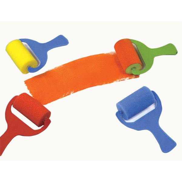 【華森葳兒童教玩具】美育教具系列-海綿滾輪-彩色 L1-AP/211/SR