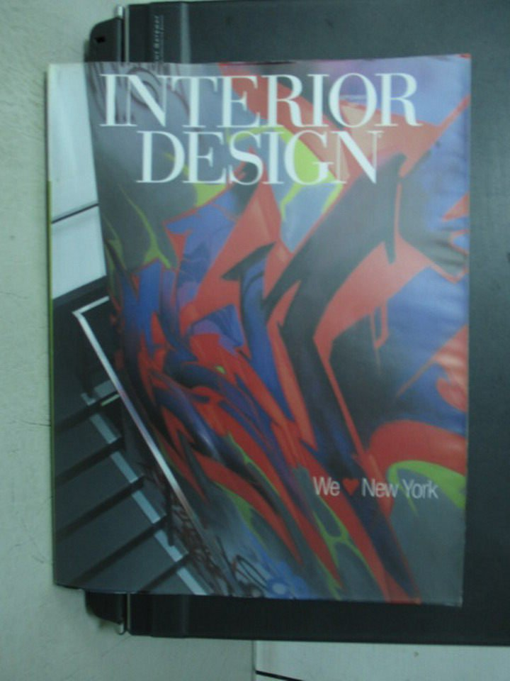 【書寶二手書T3/設計_ZHJ】Interior Design_2007/9_We Love New York