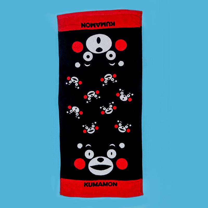 兒童毛巾 / 生活館-100%純棉【熊本熊kumamon】28X54cm,正版授權,日本最夯,吸水性佳,柔軟易清洗,戀家小舖