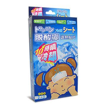 【脫酸寧】退熱貼片 (未滅菌) 6片/盒 (10時間持續冷卻)