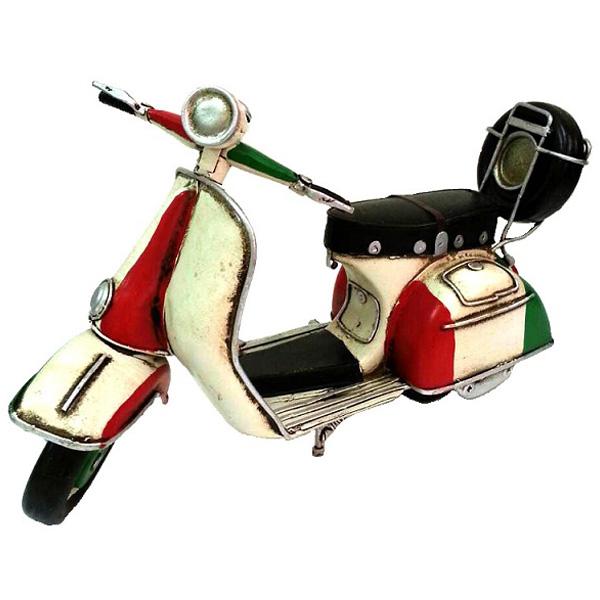 超Q偉士牌 鄉村風 復古風 手工鐵製模型車 環島哈雷重機/腳踏自行車咖啡店裝飾品 民宿/Vespa/經典復古/機車模型