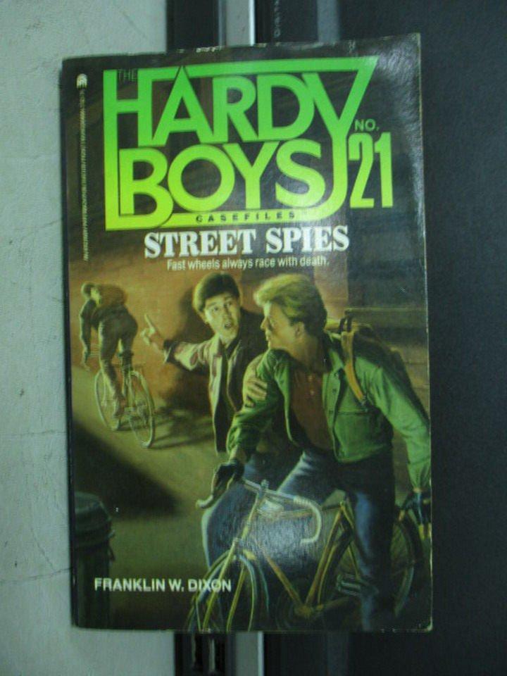 【書寶二手書T2/原文小說_LDF】Street Spies_Franklin W. Dixon