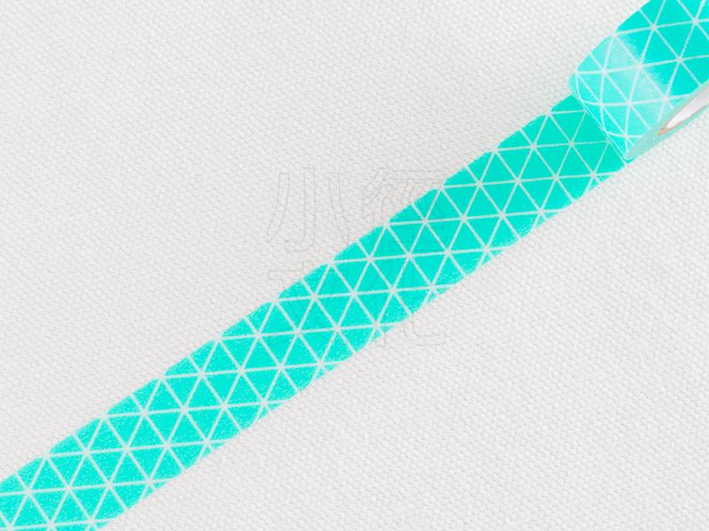 *小徑文化*日本進口 Mark`s maste BASIC 系列和紙膠帶 - 三角幾何_薄荷綠 ( MST-MKT181-MI )
