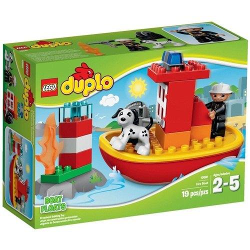 樂高積木LEGO《 LT10591 》2015 年Duplo 得寶幼兒系列 - 消防船