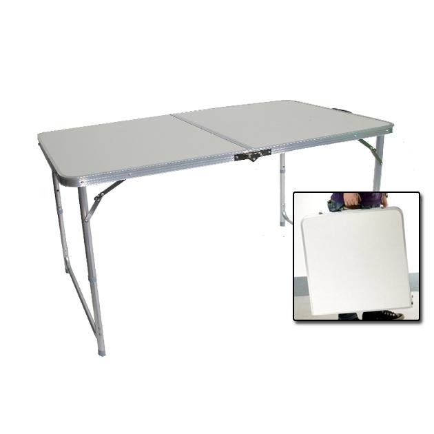 【搜梗生活網】手提式鋁合金折疊桌
