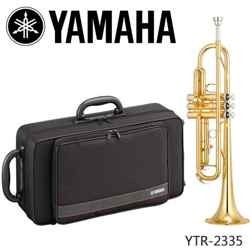 【非凡樂器】YAMAHA YTR-2335 降B調小號/小喇叭/商品顏色以現貨為主【YAMAHA管樂原廠認證】