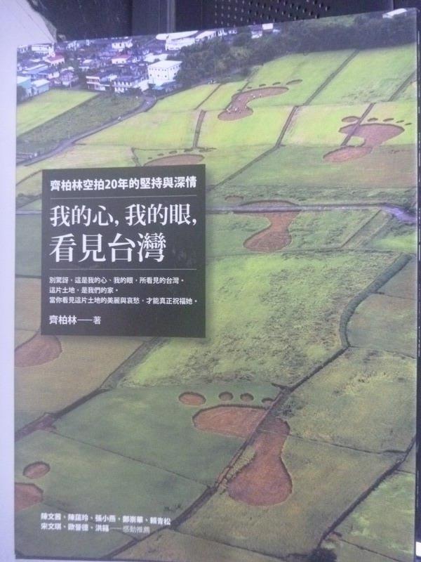 【書寶二手書T1/一般小說_YGQ】我的心,我的眼,看見台灣_齊柏林