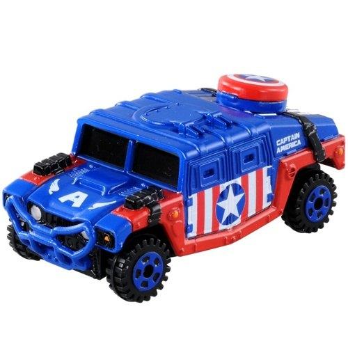 《TOMICA》夢幻小汽車 - DM144 美國隊長悍馬車