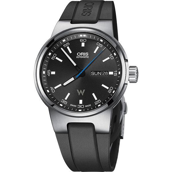 ORIS 豪利時0173577164154-0742450 Oris Williams 日曆星期表械腕錶/黑面42mm