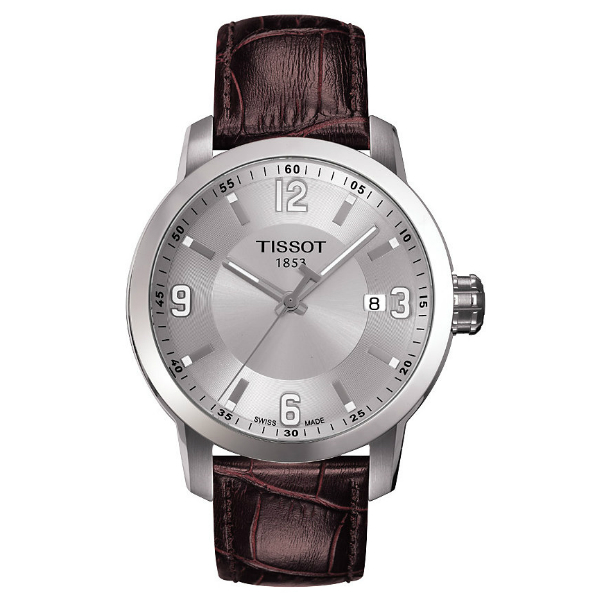 TISSOT天梭T0554101603700  PRC200經典石英腕錶/灰面39mm