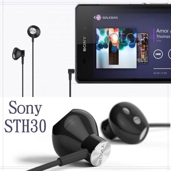 【免運】Sony STH30 原廠立體聲耳機 Xperia M2 D2303 /Xperia Z1 Compact D5503/Xperia Z C6602