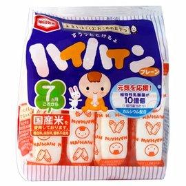 【淘氣寶寶】日本製 龜田嬰兒米餅/米果(植物乳酸菌) 【國產米100% 不含色素】【有效期限2016/06/18】