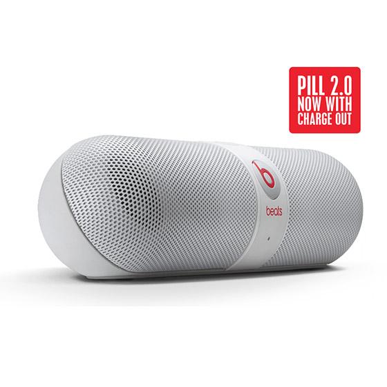 Beats by Dr Dre Pill 2.0 【白】無線藍牙喇叭 膠囊喇叭 先創公司貨