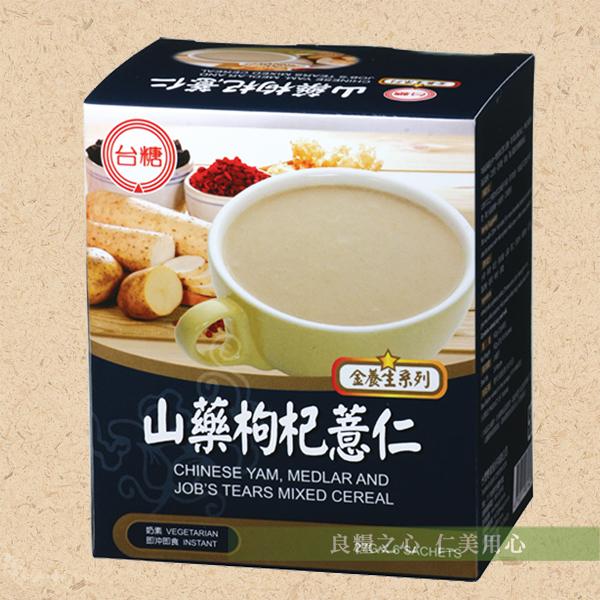 台糖 山藥枸杞薏仁(6包/盒)