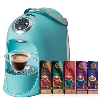 MR.BROWN Cafe(S20)伯朗膠囊咖啡機 馬卡龍藍◤送50顆咖啡膠囊◢
