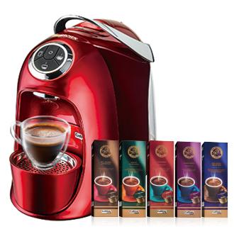 MR.BROWN Cafe(S20)伯朗膠囊咖啡機  緋鑽紅◤送50顆咖啡膠囊◢