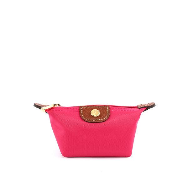 【LONGCHAMP】小零錢包(玫瑰粉)3693089C88